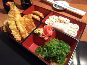 Bento#5 Tempura Chicken or Shrimp